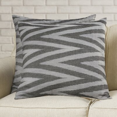 Colston Cotton Decorative Pillow Size: 18 x 18