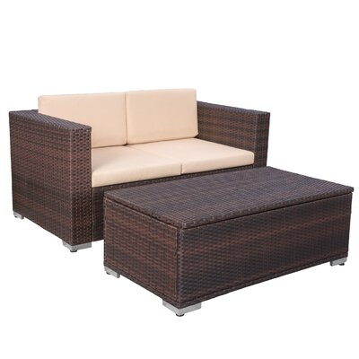 Tildenville 2-Piece Cameron Patio Seating Group