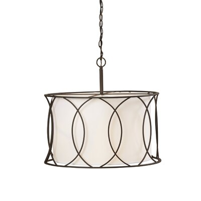 Tadwick 3-Light Drum Pendant