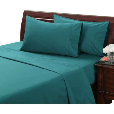 Myricks 500 Thread Count 100% Cotton Sheet Set Size: Full, Color: Jasper