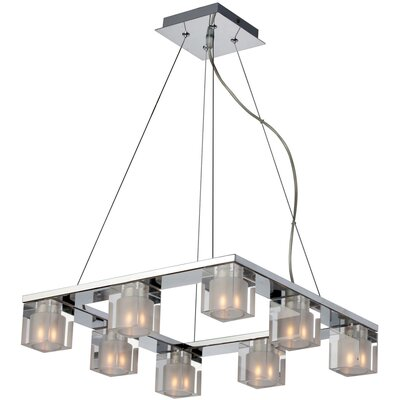 Patnaude 8-Light Kitchen Island Pendant