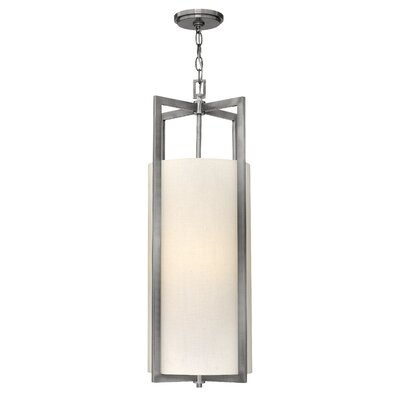Allenhurst 4-Light Mini Foyer Pendant Finish: Antique Nickel