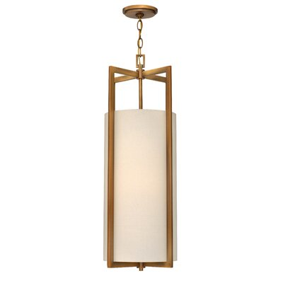Allenhurst 4-Light Mini Foyer Pendant Finish: Brushed Bronze