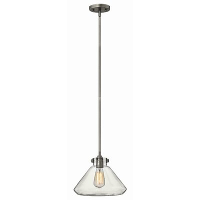 Bunnell Contemporary 1-Light Mini Pendant Finish: Antique Nickel