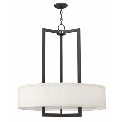 Allenhurst 3-Light Metal Drum Pendant Finish: Buckeye Bronze, Bulb Type: 26W GU24