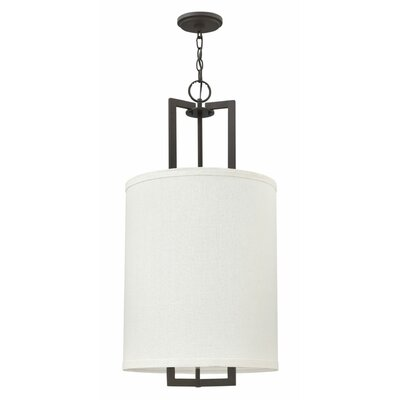 Allenhurst 3-Light 60W Drum Pendant