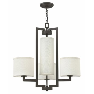 Allenhurst 4-Light Shaded Chandelier