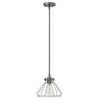 Bunnell Contemporary 1-Light Metal Mini Pendant Finish: Antique Nickel