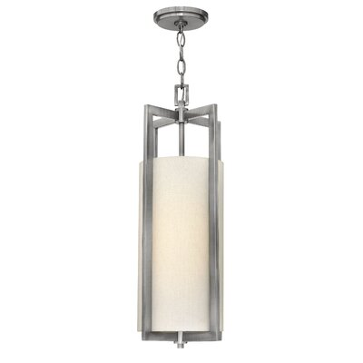 Allenhurst 1-Light Mini Pendant Finish: Antique Nickel, Bulb Type: 26W GU24