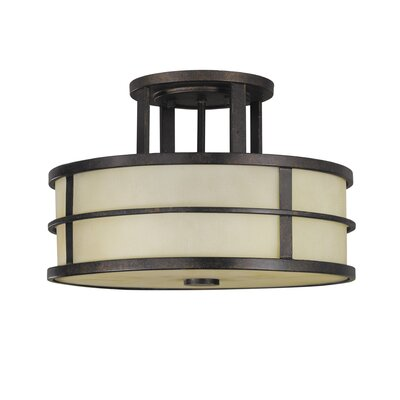 Oppenheimer 3-Light Semi Flush Mount