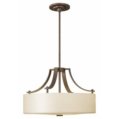 Brundage 3-Light Pendant Finish: Corinthian Bronze