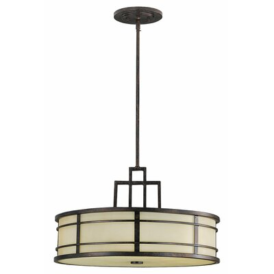 Oppenheimer 3-Light Drum Pendant