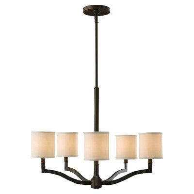 Strope 5-Light Shaded Chandelier