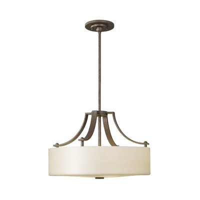 Brundage 3 Light  Drum Pendant