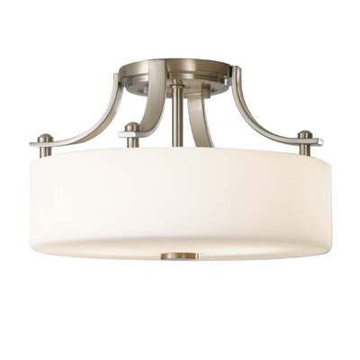 Brundage 2 Light Semi-Flush Mount
