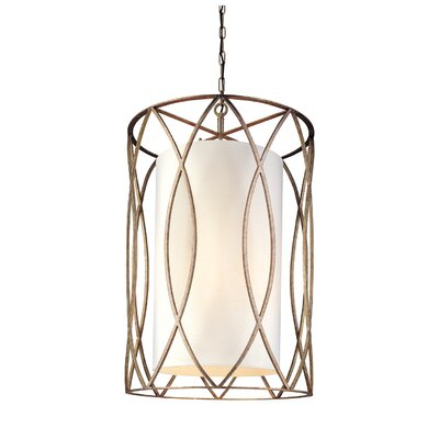 Balducci 8-Light Entry Pendant Size: Large, Finish: Silver/Gold
