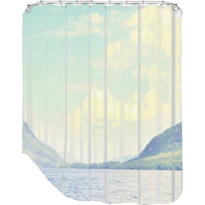 Mina Teslaru Greetings from Nowhere 2 Shower Curtain