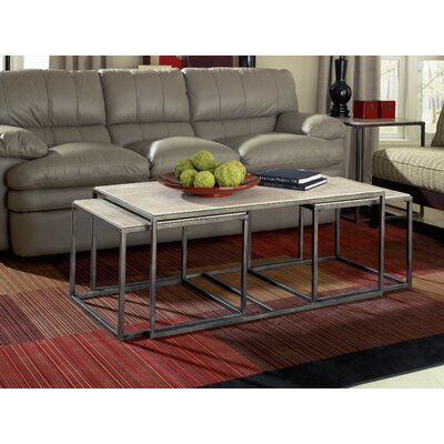 Masuda 3 Piece Coffee Table Set