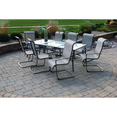 Beckstead 9 Piece Dining Set