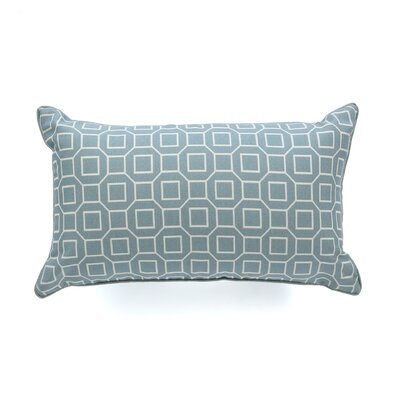 Haney Outdoor Lumbar Pillow Color: Robin