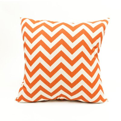 Mosby Zig Zag Throw Pillow Color: Burnt Orange
