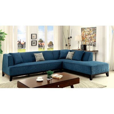 Shanahan Sectional Upholstery: Dark Teal