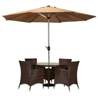 Sharber 6 Piece Dining Set