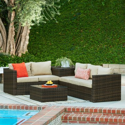 4-Piece Aria Patio Seating Group