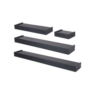 4 Piece Floating Wall Shelf Set