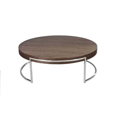 Cutler Coffee Table Color: Medium Walnut