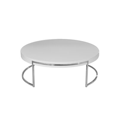 Cutler Coffee Table Finish: White
