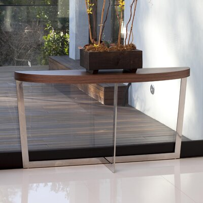 Coyer Console Table Finish: Walnut