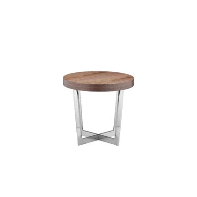 Coyer End Table Finish: Walnut