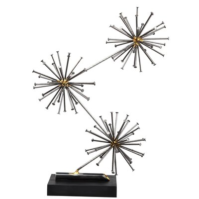 Spike Sculpture (Set of 2)