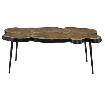 Borton Coffee Table Color: Black