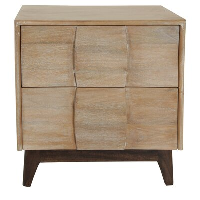 Soltis 2 Drawer Nightstand