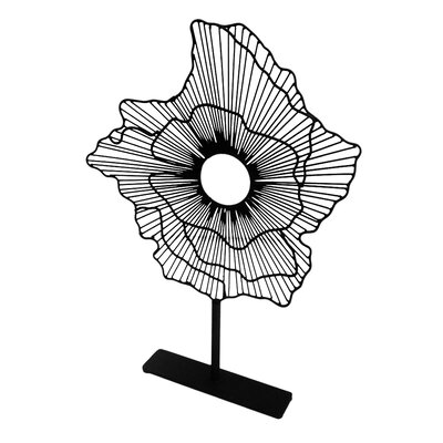Flower Sculpture on Stand