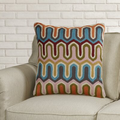 Evangelista Arrow Cotton Throw Pillow Size: 20 H x 20 W