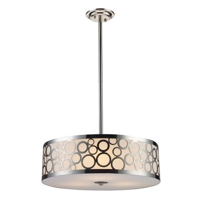 Buono 3-Light Drum Pendant