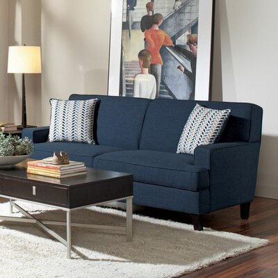 Brayden Studio Perillo Sofa in Blue