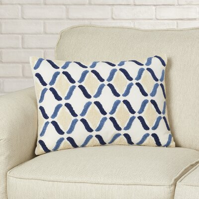 Barth Embroidered Lumbar Pillow