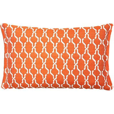 Render Outdoor Living Lumbar Pillow Color: Tangerine