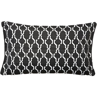 Render Outdoor Living Lumbar Pillow Color: Steel