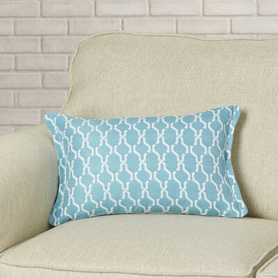 Render Outdoor Living Lumbar Pillow Color: Turquoise