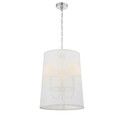 Duley 3-Light Drum Pendant