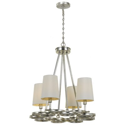 Templeman 4-Light LED Shaded Chandelier