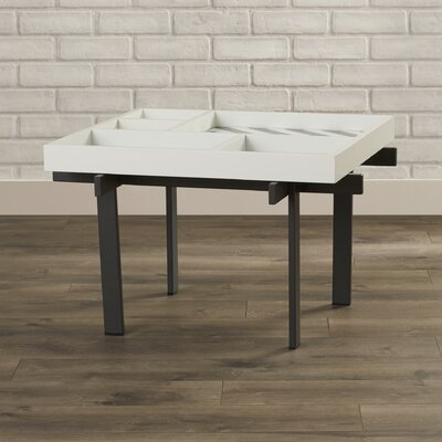 Behm Coffee Table with Tray Top