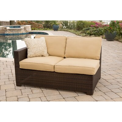 Abraham 2-Piece Loveseat Seating Group with Cushion Color: Sahara Sand