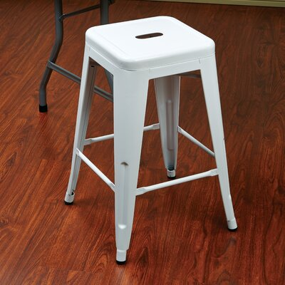 Blaney 24 Bar Stool Finish: White