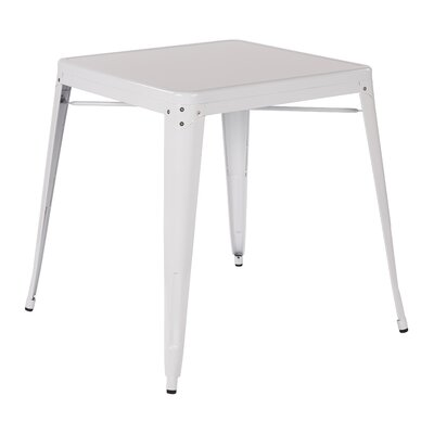 Blaney End Table Finish White